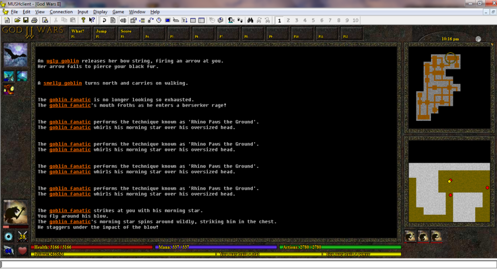 Gaming Literacy - MUD screenshot